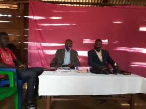 Pastors at Wandago church