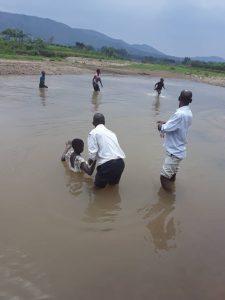 Baptisms in Uganda 2021