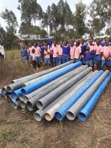Hope Water Africa pipes for Tongaren