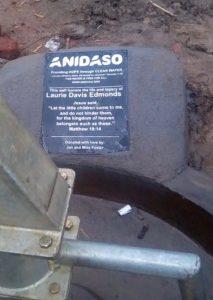 Pump of borehole
